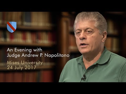 An Evening with Judge Andrew P. Napolitano