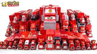 Learning Color Red color Disney Cars Lightning McQueen Mack Truck Play for kids car toys