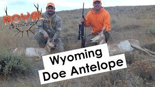 Wyoming Doe Antelope Hunt 2016