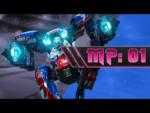 PSVR RIGS: Mechanized Combat League - Multiplayer Gameplay #1 37 - 23 TDM
