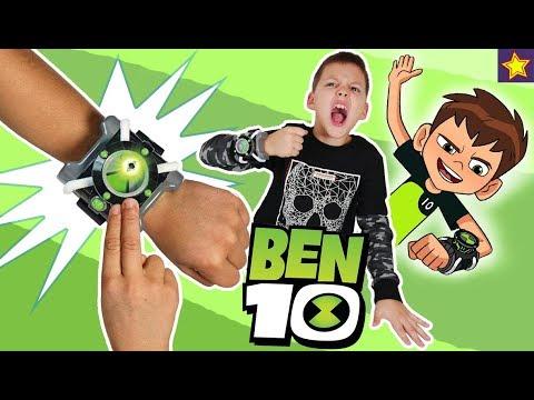 Почему игрушки БЕН 10 засыпали Игорюшу? Что случилось с часами Омнитрикс? Скетчи для детей