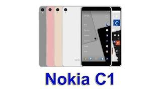 Nokia C1 - технические характеристики нового смартфона от Nokia