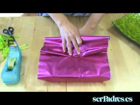 Las mil posibilidades del paquete en abanico youtube - Papel de regalo transparente ...