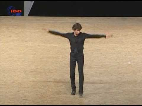 Daniel Leveillé, world champion of tap dancing 2009 Music Videos