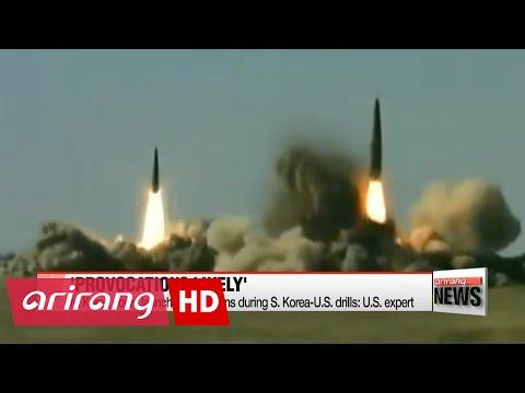 N. Korea could launch provocations during S. Korea-U.S. drills: U.S. expert