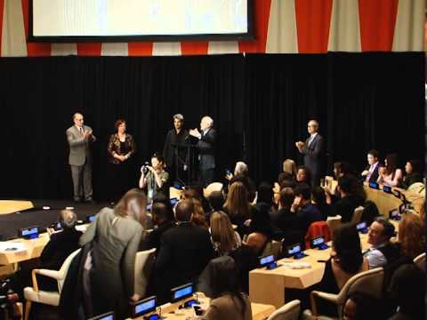 1st. Fashion Show at the UN is Palestinian