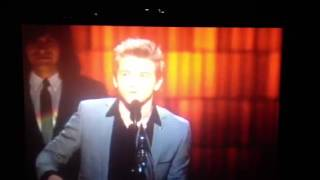 Hunter Hayes: New Artist of the Year speech - Country Music Awards 2012