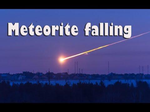 Приближение метеорита 14 02 13 г