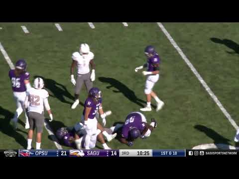OPSU vs SAGU (Second Half) » NAIA Football 2018