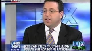 Jets Fan Sues New England Patriots Belichick--David Schwartz Analyzes for Fox Online