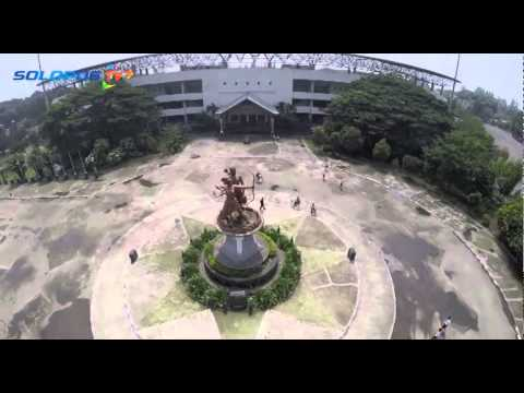 Stadion Manahan Solo with Drone MP3