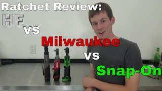 Electric Ratchet Review: Milwaukee Fuel vs Snap-On vs Harbor Freight Earthquake