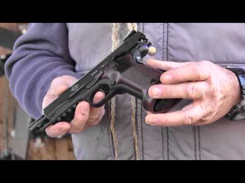 Shooting the American Tactical Imports GSG Target 1911 Semi-Auto 22 Pistol - Gunblast.com