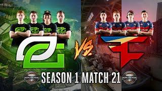 Black Ops 3 CWL - Season 1 Match 21 - OpTic vs. FaZe