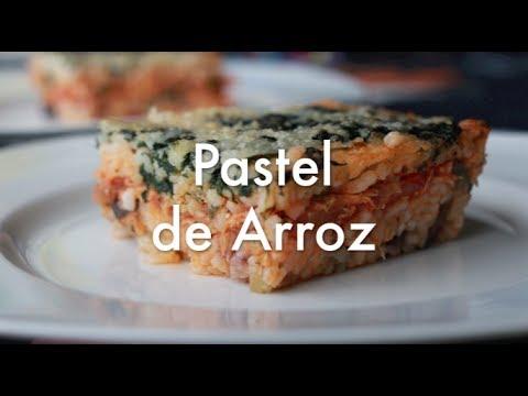 Pastel de Arroz - Recetas de Cocina Fáciles y Económicas