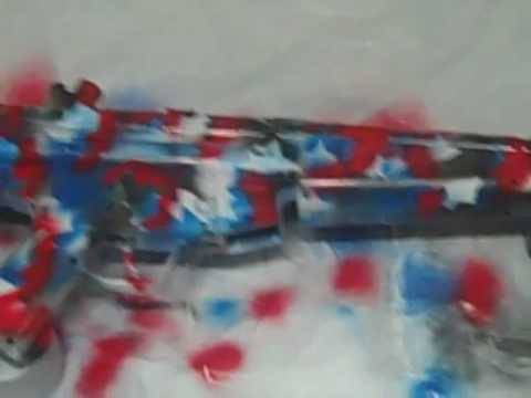 How To Paint Your Airsoft Gun Urban Camo