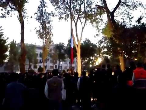 SISMO 19 Sep .plaza solidaridad. CEREMONIA