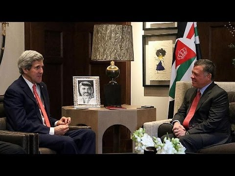 Kerry sees Palestinians and Israelis making progress towards peace