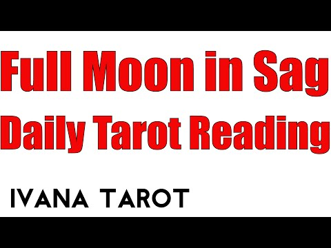 Full Moon, Daily Tarot Reading for 20 of June 2016 by Ivana Tarot