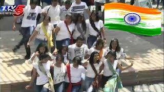 Texas University Indian Students Independence Day Celebrations - USA  - netivaarthalu.com