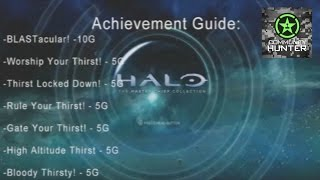 Thirst Achievements - Halo: The Master Chief Collection