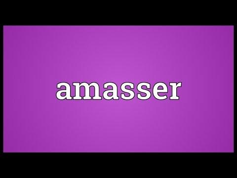 Header of Amasser