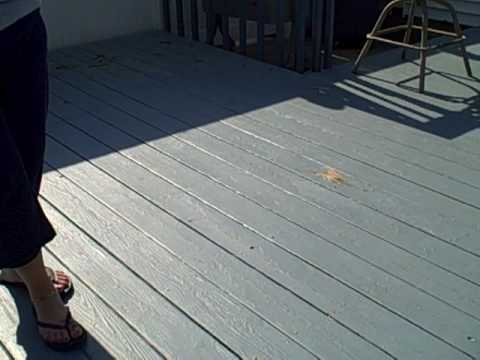 Dont Paint Your Deck Let Me Show You Why By Power