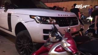 (VTC14)_Bắt đối tượng trộm xe Range Rover, gây tai nạn liên hoàn ở Hà Nội