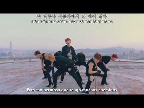 몬스타엑스 (MONSTA X) - 히어로 (HERO) Rooftop Ver. [Sub Espanol   Hangul   Romanizacion]