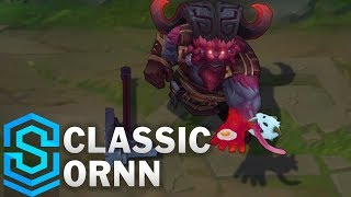 Classic Ornn, the Fire Below The Mountain - Ability Preview - League of Legends