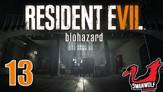 Resident Evil 7: Biohazard | Ep 13: Moldy Wing Wang With Walking Vomit | Swanwolf Gaming
