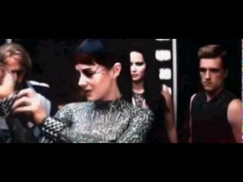 Elevator Scene (Funny) - Catching Fire - YouTube