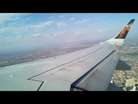 Frontier Airlines ERJ-190 Takeoff From Phoenix Sky Harbor International Airport