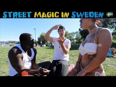 Swedish girls reacts to magic 🇸🇪 -Julien Magic