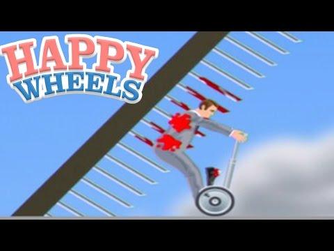 史上最悪の歩きスマホ事故 - Happy Wheels 実況プレイ