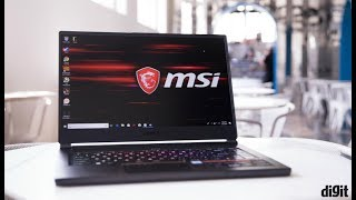 MSI GS65 Stealth Thin 8RF Gaming Laptop First Look | Digit.in
