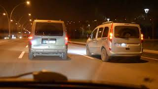Renault Kangoo 1.5 dCi 105 HP vs Ford Connect 1.8 TDCİ 110 HP Rolling