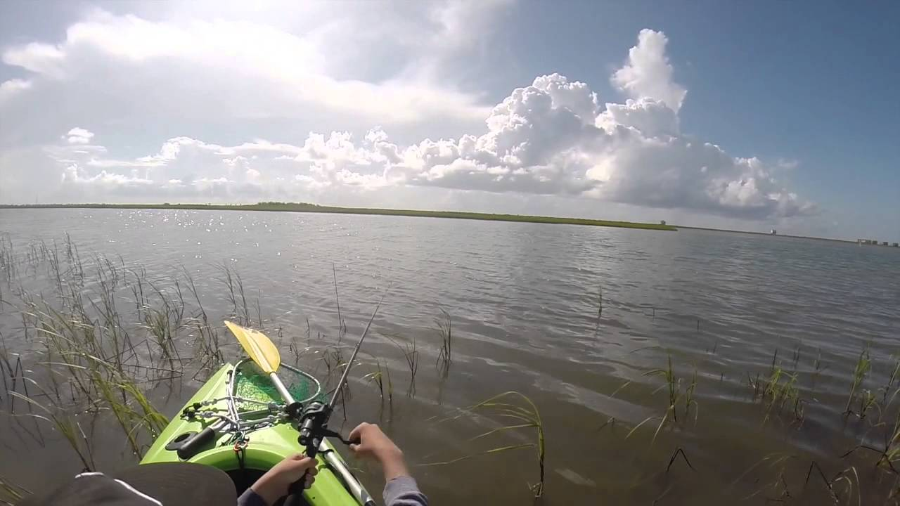 Kayak fishing surfside texas christmas bay big skipjack for Fishing report surfside tx