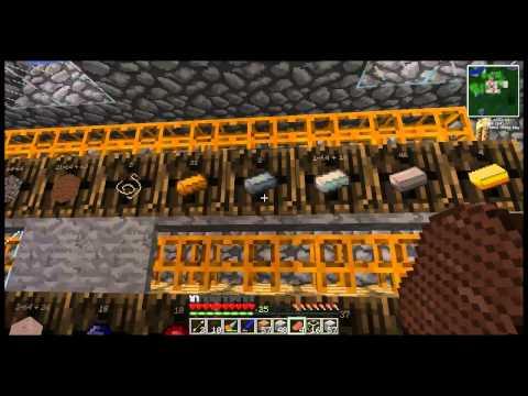 Technocraft # 43 - minecraft 2013 - La stanza degli Iron tank -