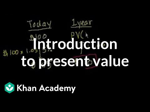 Introduction to Present Value