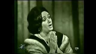 Gabriella Tucci - Puccini - Madama Butterfly - 'Un bel dì vedremo' - 1964