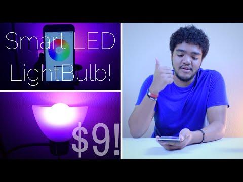 $9 LED Smart Light Bulb? (TikTeck Smart Light)