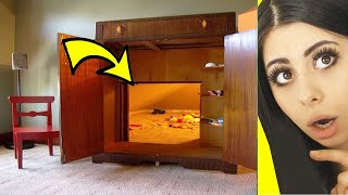 MIND BLOWING Hidden Rooms and Secret Furniture !