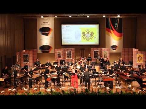 Fragment van Charles V, gespeeld door Percussie-ensemble De Herleving uit Brussegem tijdens WMC 2013. Zij wonnen in First division met 95,08%