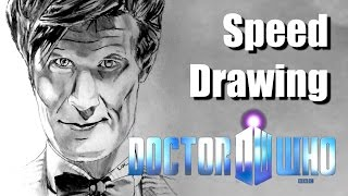 SPEED DRAWING #10 - Doctor Who : Matt Smith