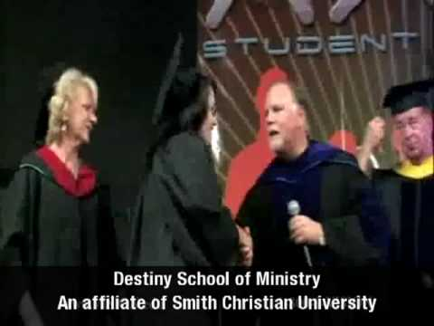 Destiny School of Ministry - Smith Christian University Educational Fellowship - 12/06/2009
