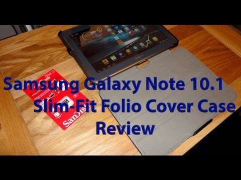 Samsung Galaxy Note 10.1 Case Review