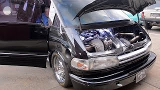 1500+hp Toyota Tarago Van in the build