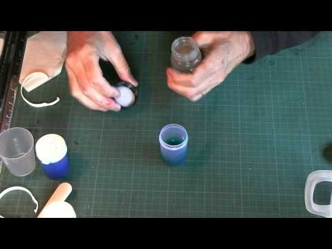 Bottles and Measure for Glass Painting