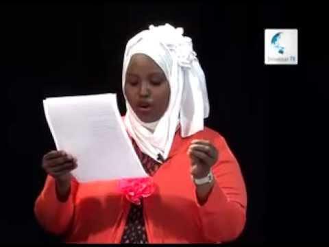 Yousuf Hussein Gacayte, Khadar jinni iyo Aamina muse weheliye GABAY FARIIN JACAYL AH